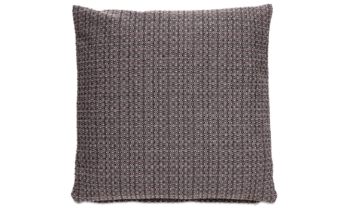 Patterned cushions - Rustic cuscino - Viola - Tessuto