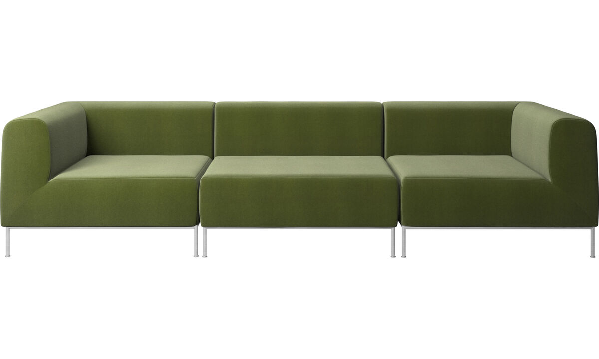 3 seater sofas - Miami sofa - Green - Fabric