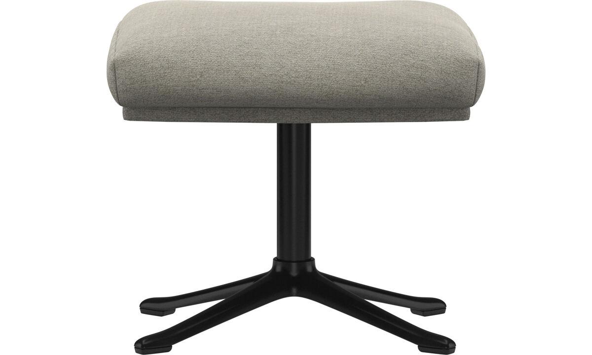 Footstools - Reno footstool - Beige - Fabric