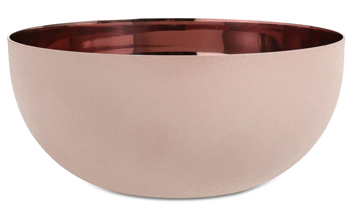 New designs - Shimmer bowl - Red - Metal