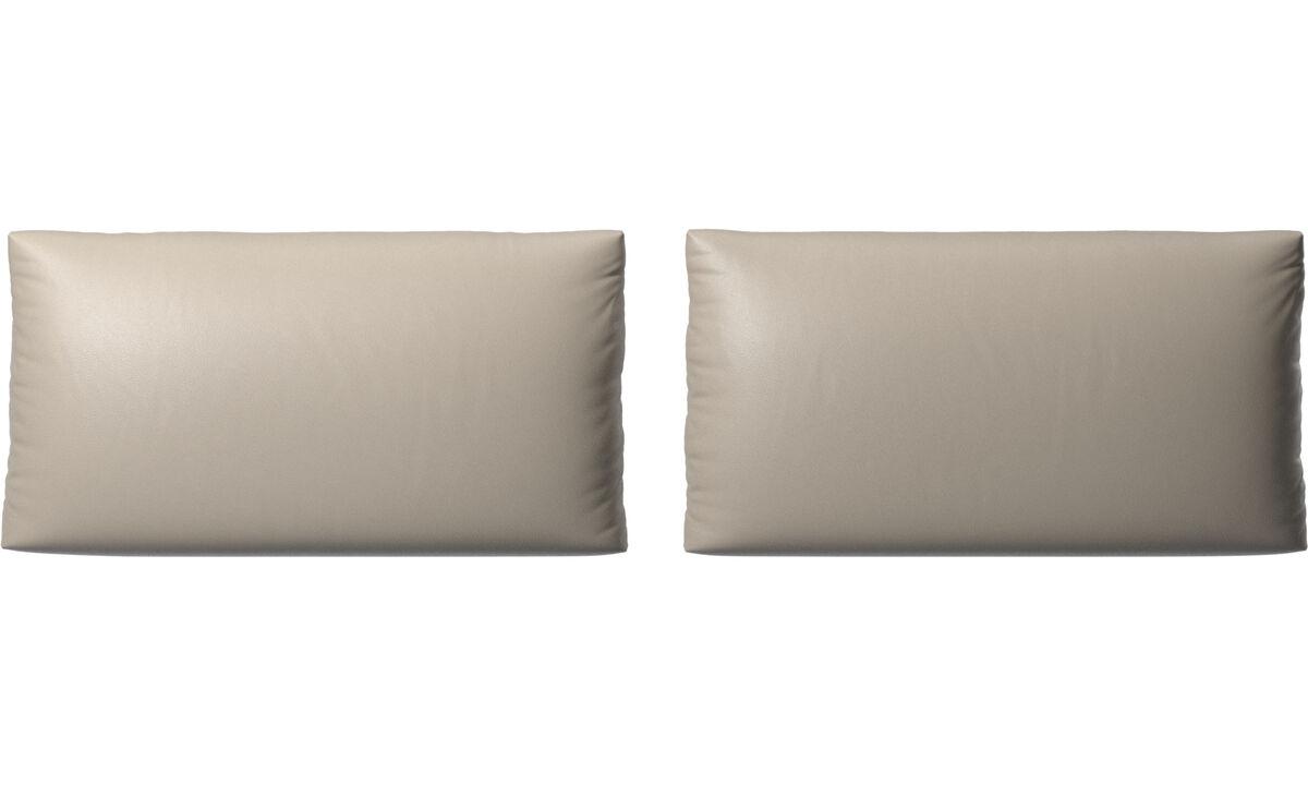 Аксессуары для мебели - Подушки Nantes - Бежевого цвета - Кожа