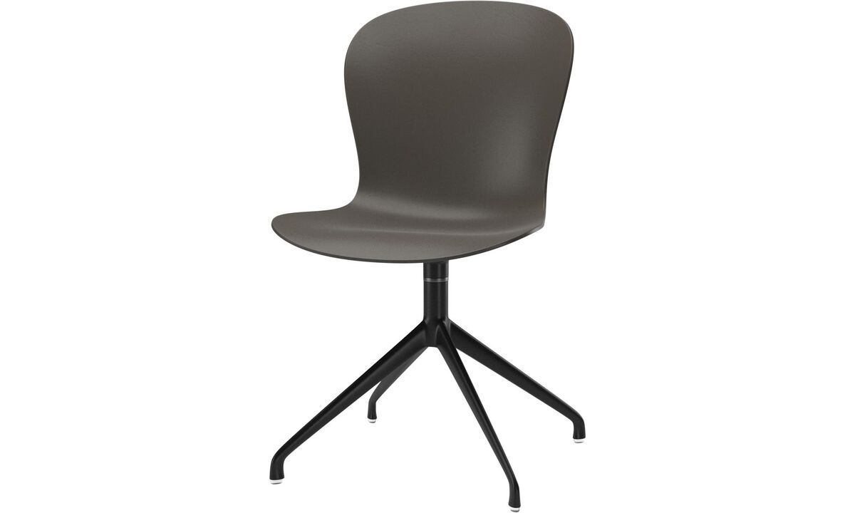 Dining chairs - Adelaide chair with swivel function - Green - Lacquered