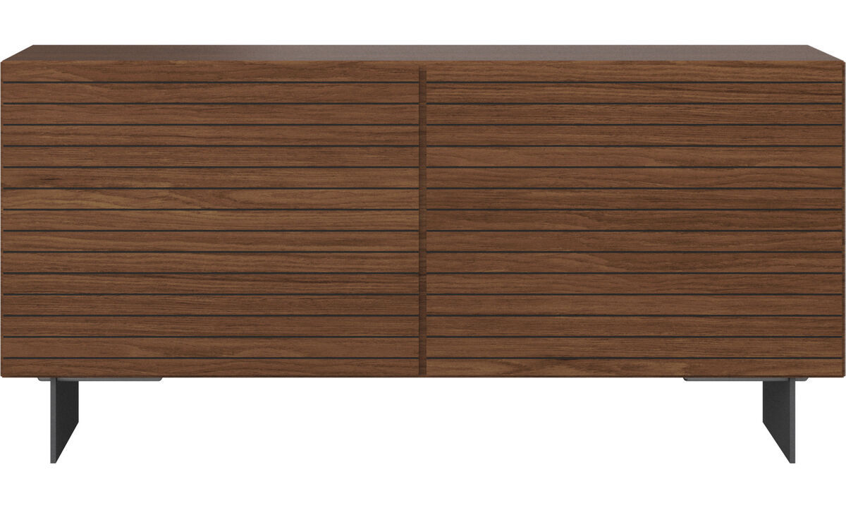 Sideboards - Lugano Sideboard - Braun - Walnuss