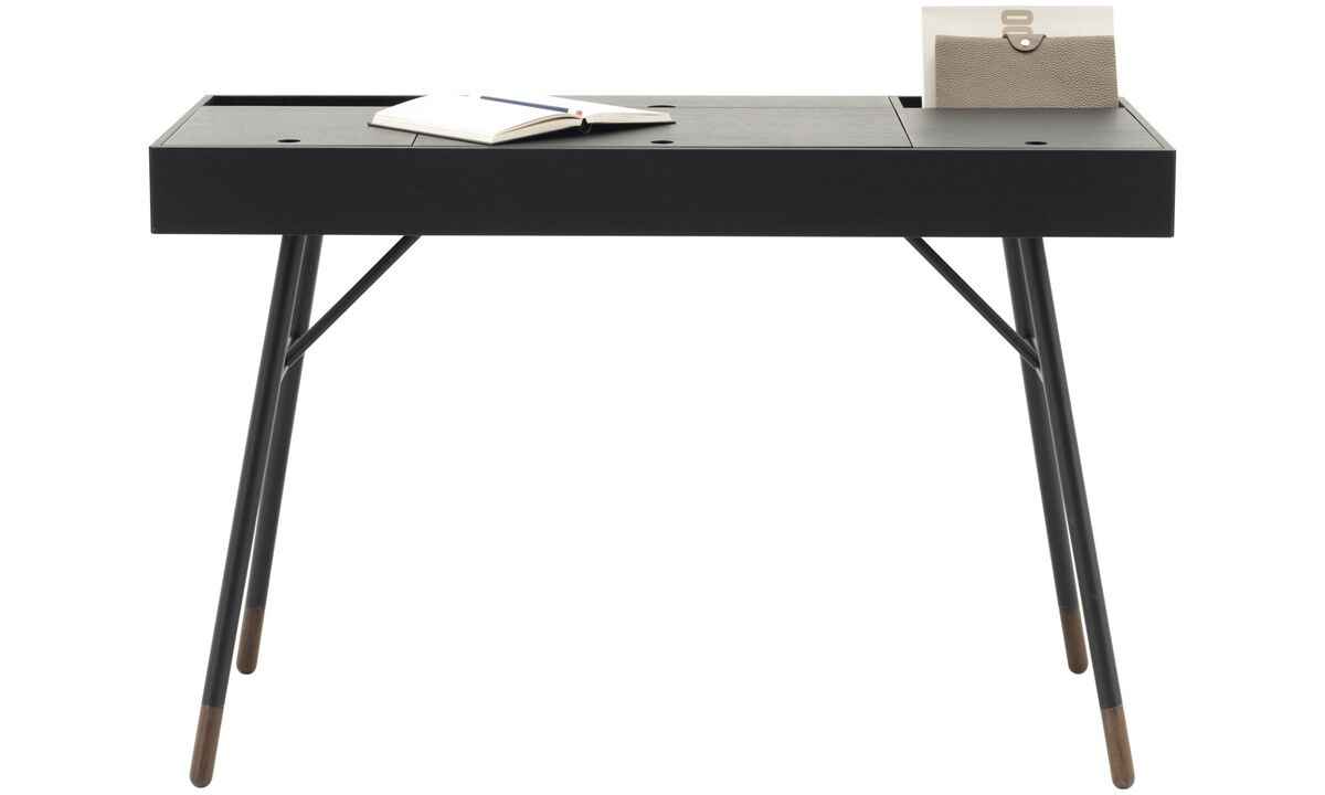Desks - Cupertino desk - rectangular - Black - Lacquered