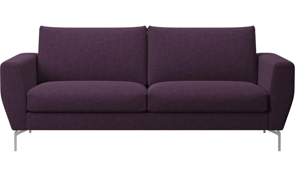 2.5 seater sofas - Nice sofa - Red - Fabric