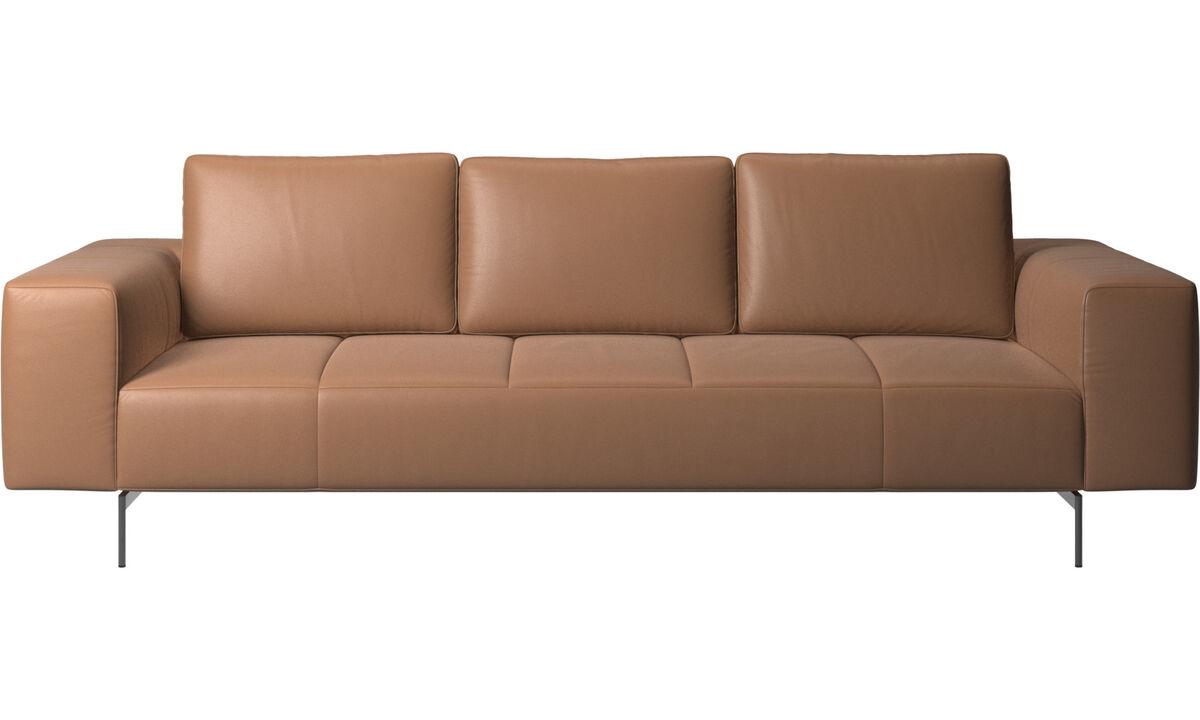 Trojsedačky - Amsterdam sedačka - Hnedá - Koža