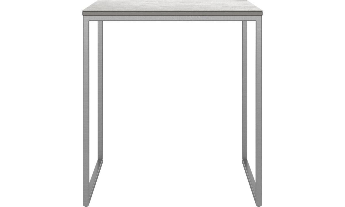 Βοηθητικά τραπέζια - τραπέζι σαλονιού Lugo - τετράγωνη - Γκρι - Κεραμικό