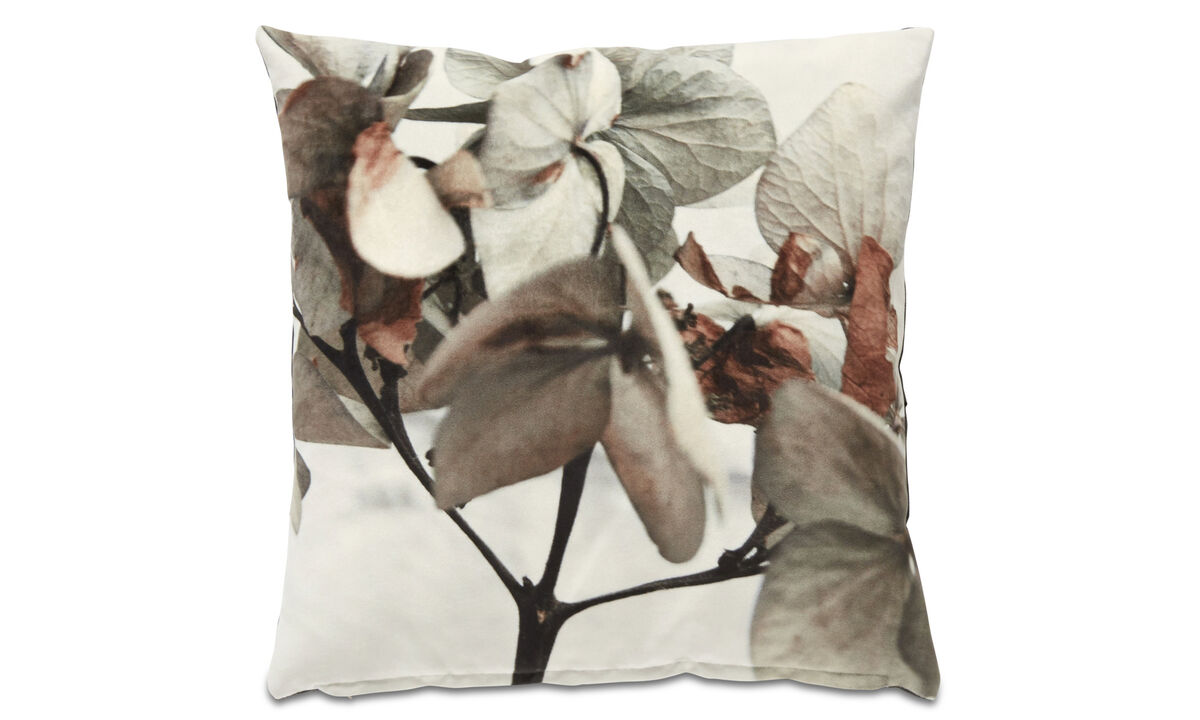 Cushions - Hydranges cushion - Beige - Fabric