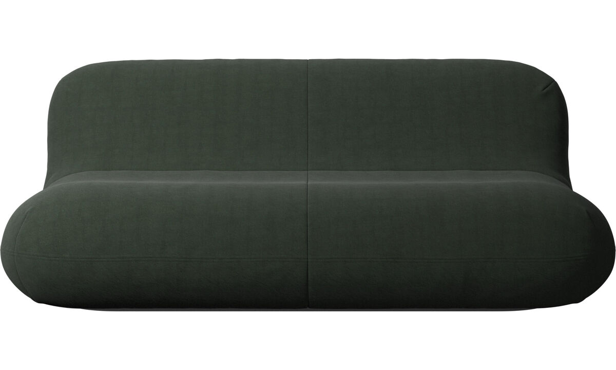 2.5 seater sofas - Chelsea sofa - Green - Fabric