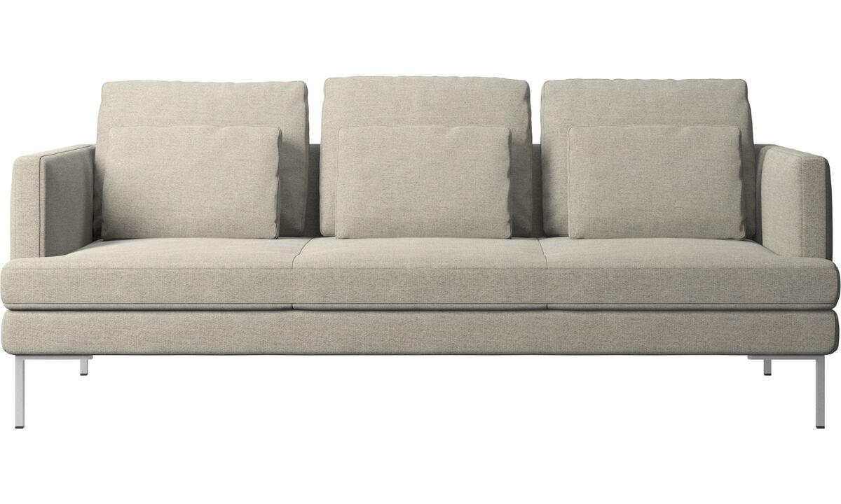 Трехместные диваны - Диван Istra 2 - Бежевого цвета - Tкань