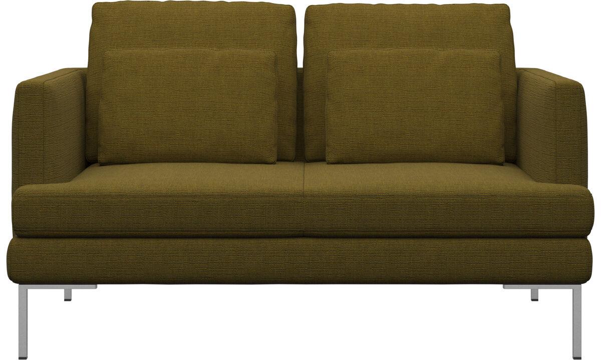 Sofas - Istra 2 sofa - Yellow - Fabric
