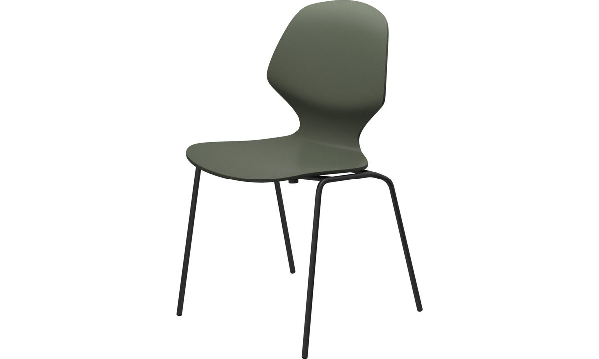 Dining chairs - Sedia Florence - Verde - Laccato