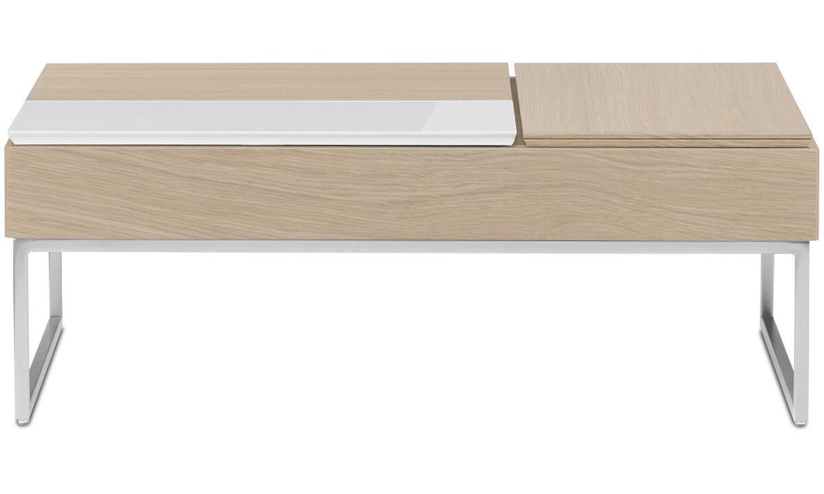 Журнальные столики - Функциональный журнальный столик Chiva с местом для хранения - прямоугольный - Коричневого цвета - Лак