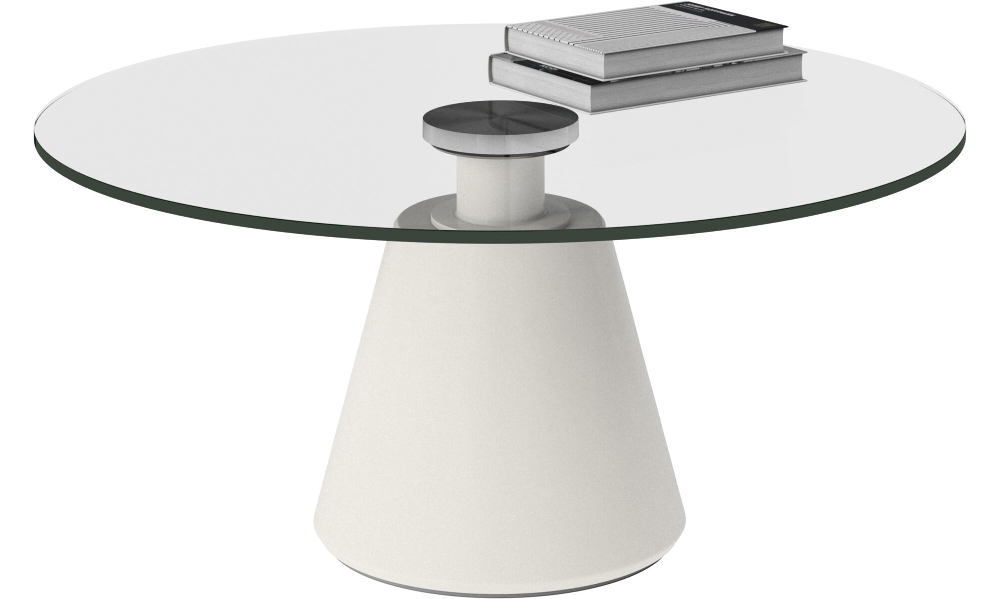 Coffee Tables   Madrid Coffee Table   Round   Clear   Glass
