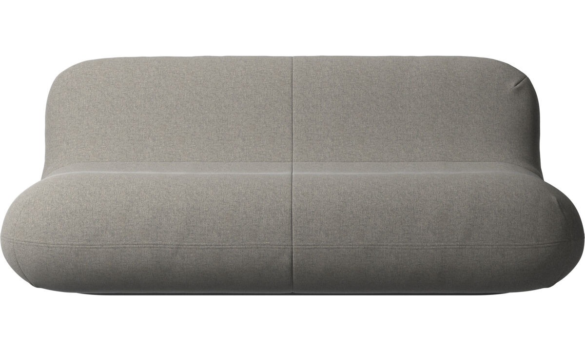 2.5 seater sofas - Chelsea sofa - Black - Fabric