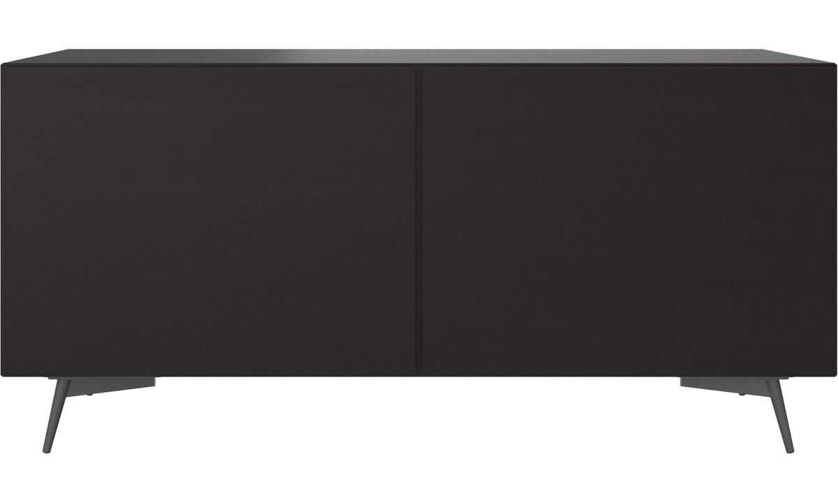 Sideboards - Lugano sideboard - Black - Oak