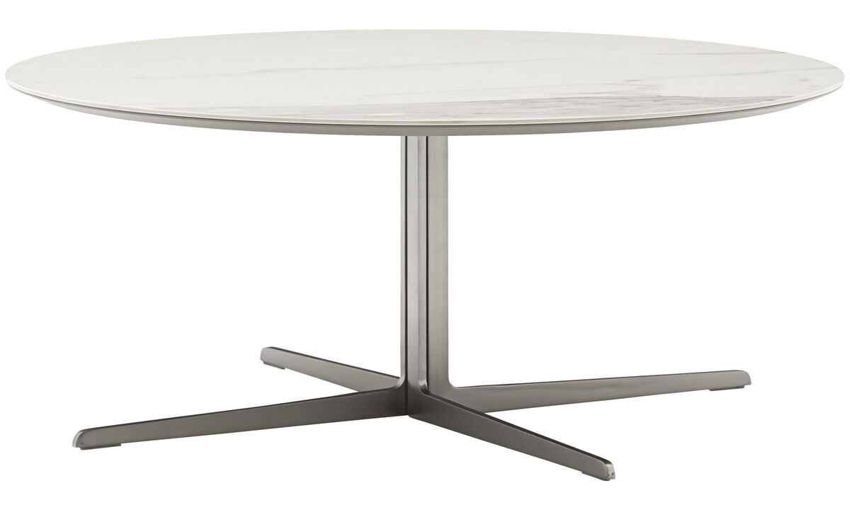 Coffee tables - Sevilla coffee table - round - White - Ceramic