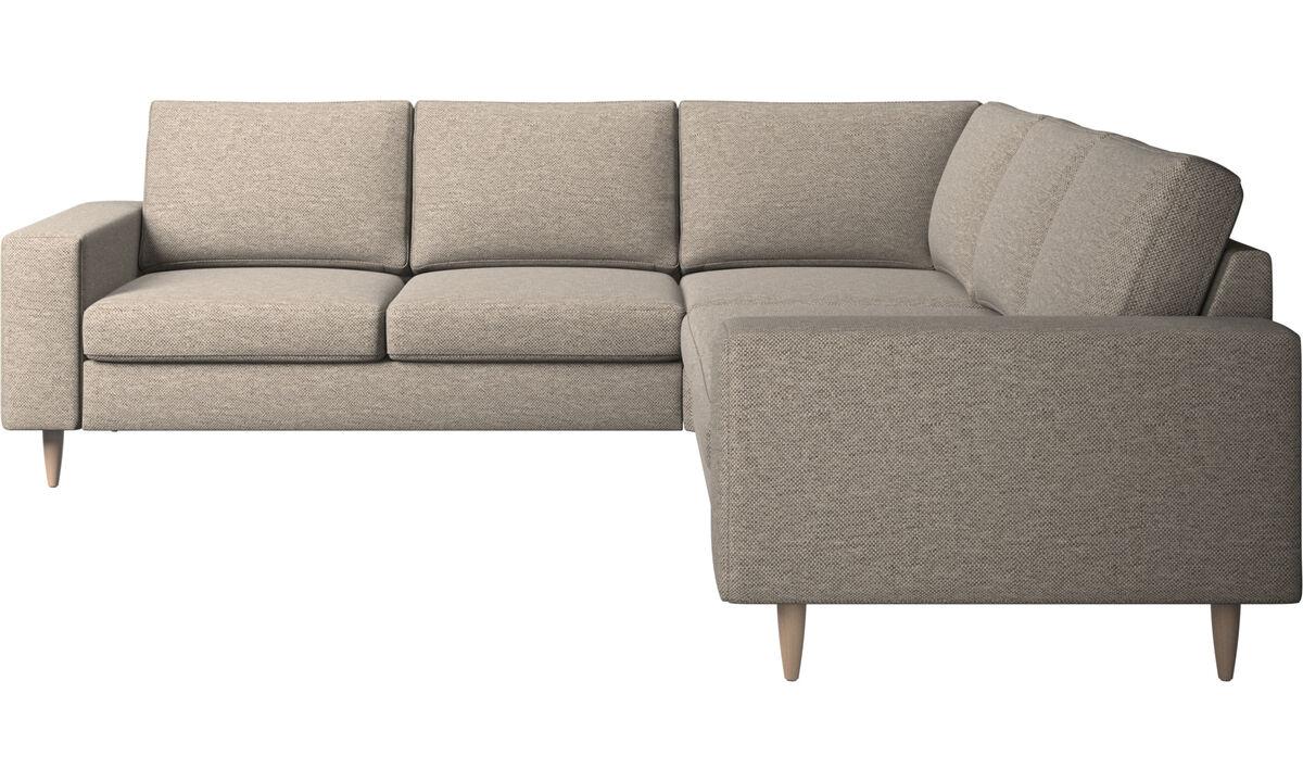 Corner sofas - Indivi 2 corner sofa - Beige - Fabric