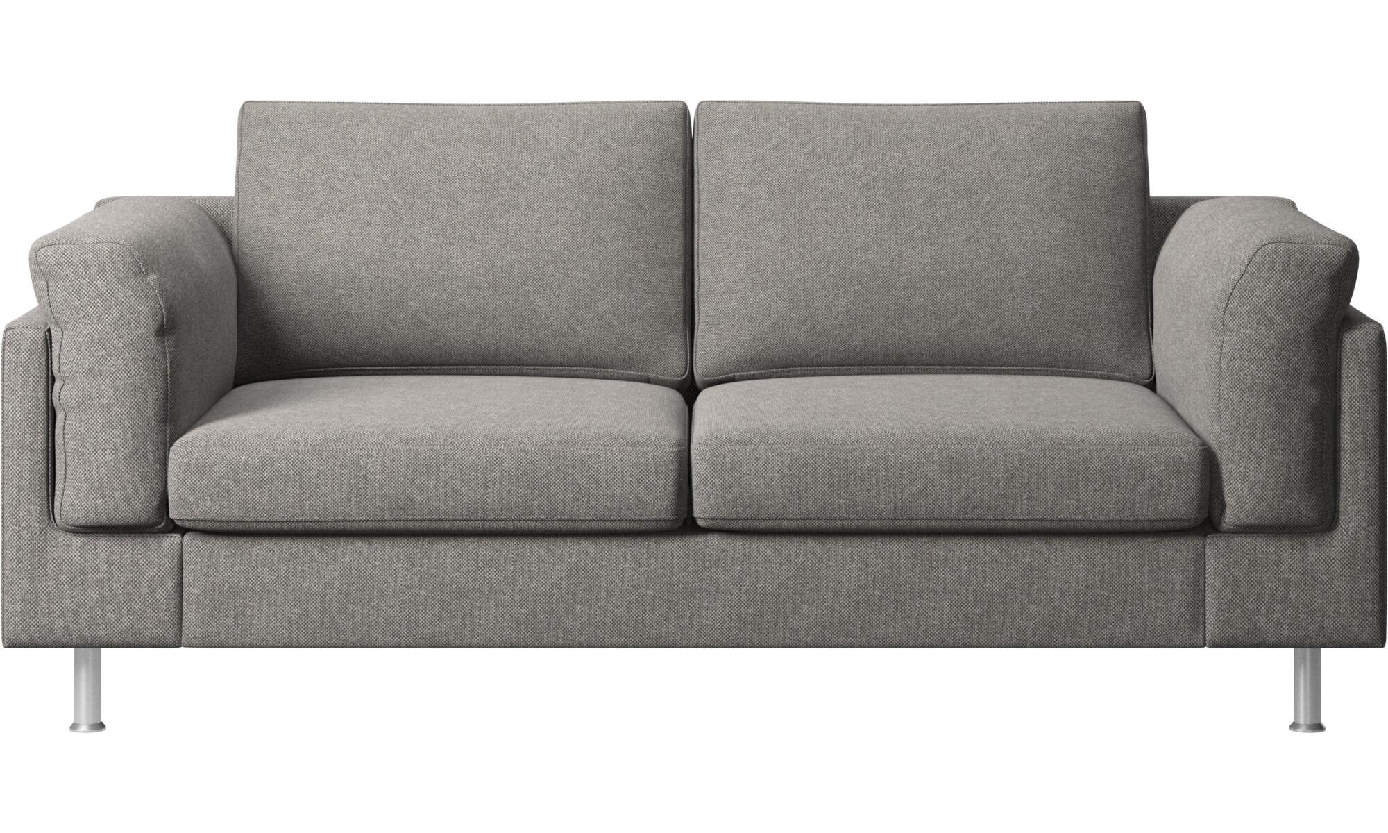 2 Seater Sofas   Indivi 2 Sofa   Grey   Fabric