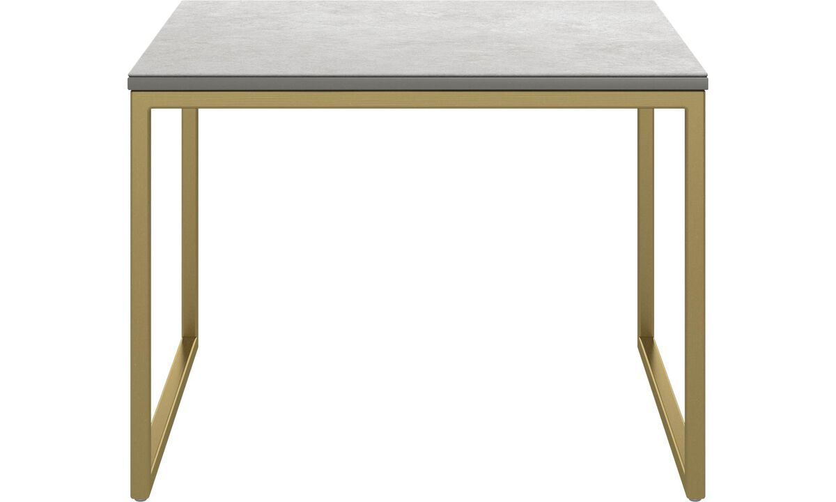Coffee tables - Lugo coffee table - square - Grey - Ceramic