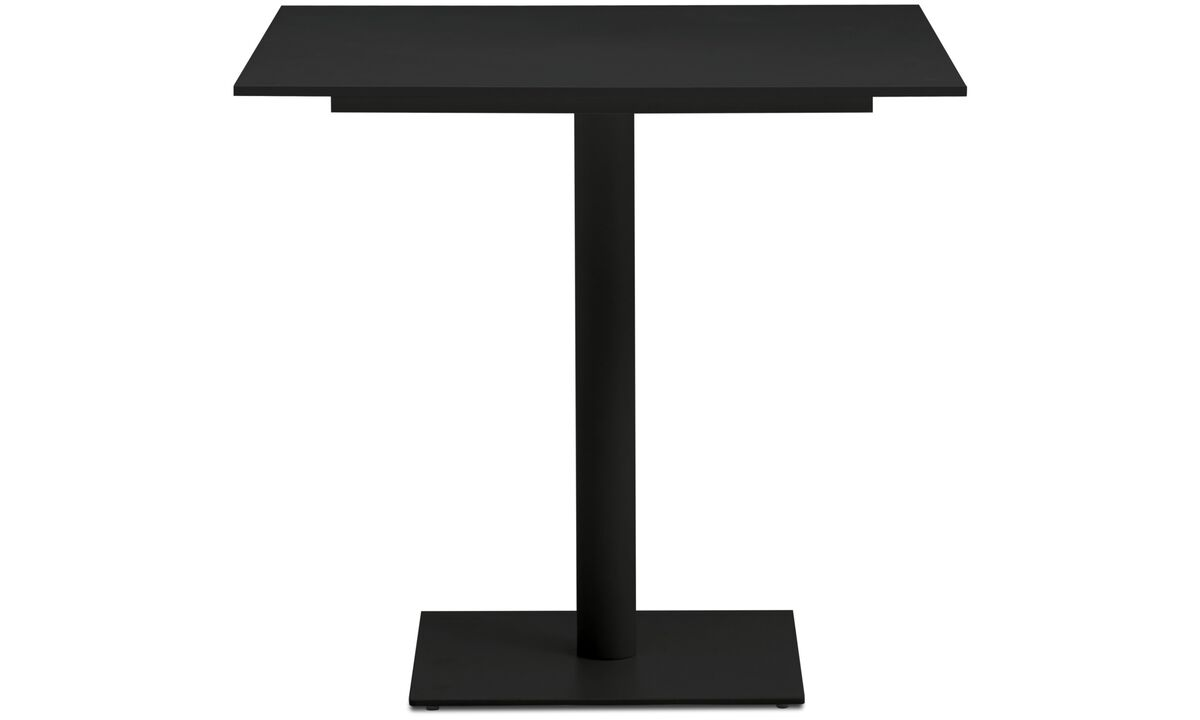 Dining tables - Torino table - square - Black - Laminate
