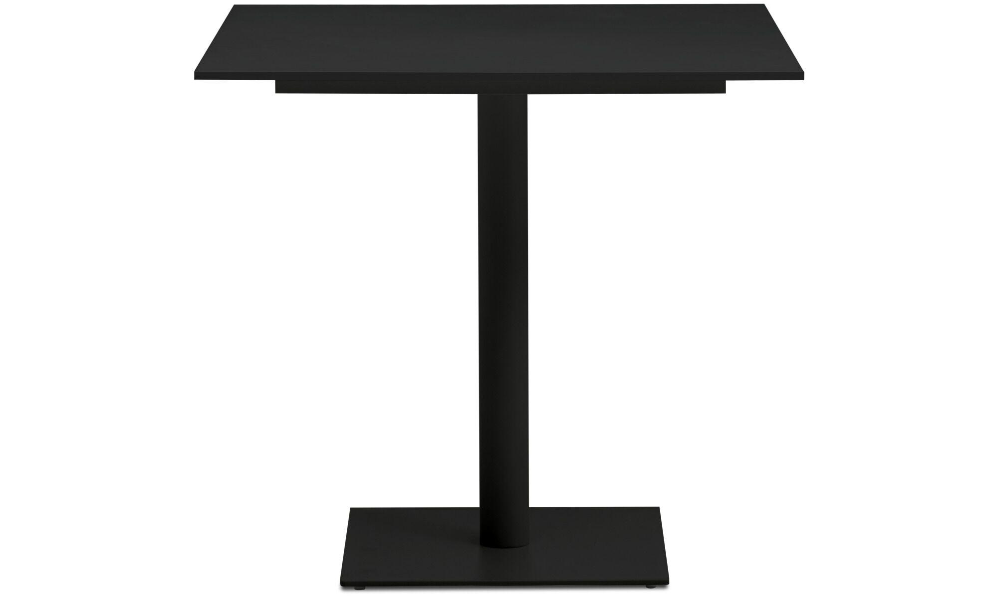 Dining Tables   Torino Table   Square   Black   Laminate