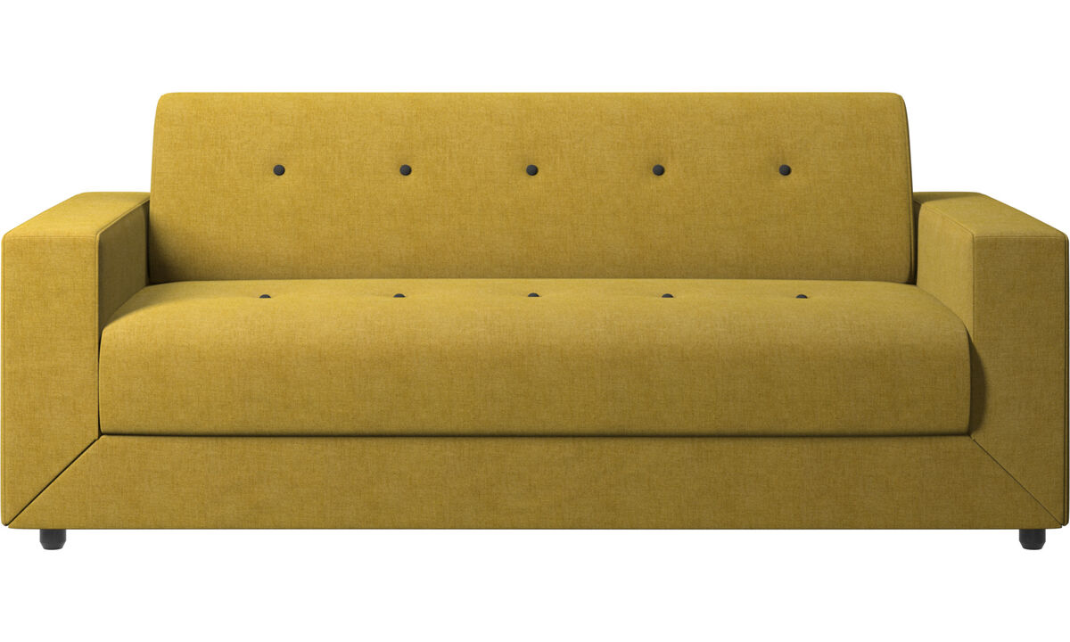 Sofa beds - Stockholm sofa bed - Yellow - Fabric
