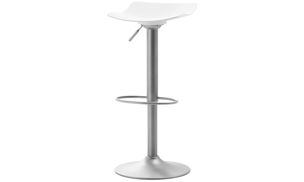 Barstools - Torup barstool with gas cartridge - White - Plastic