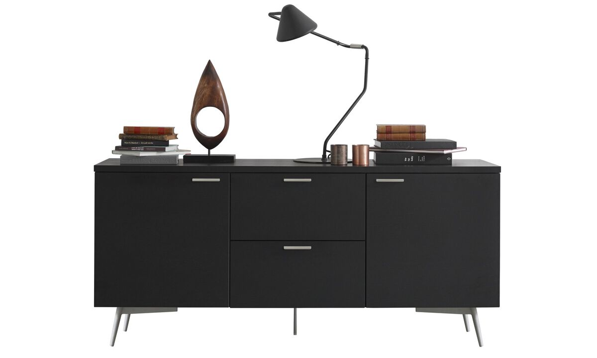 New designs - Milano sideboard - Black - Oak