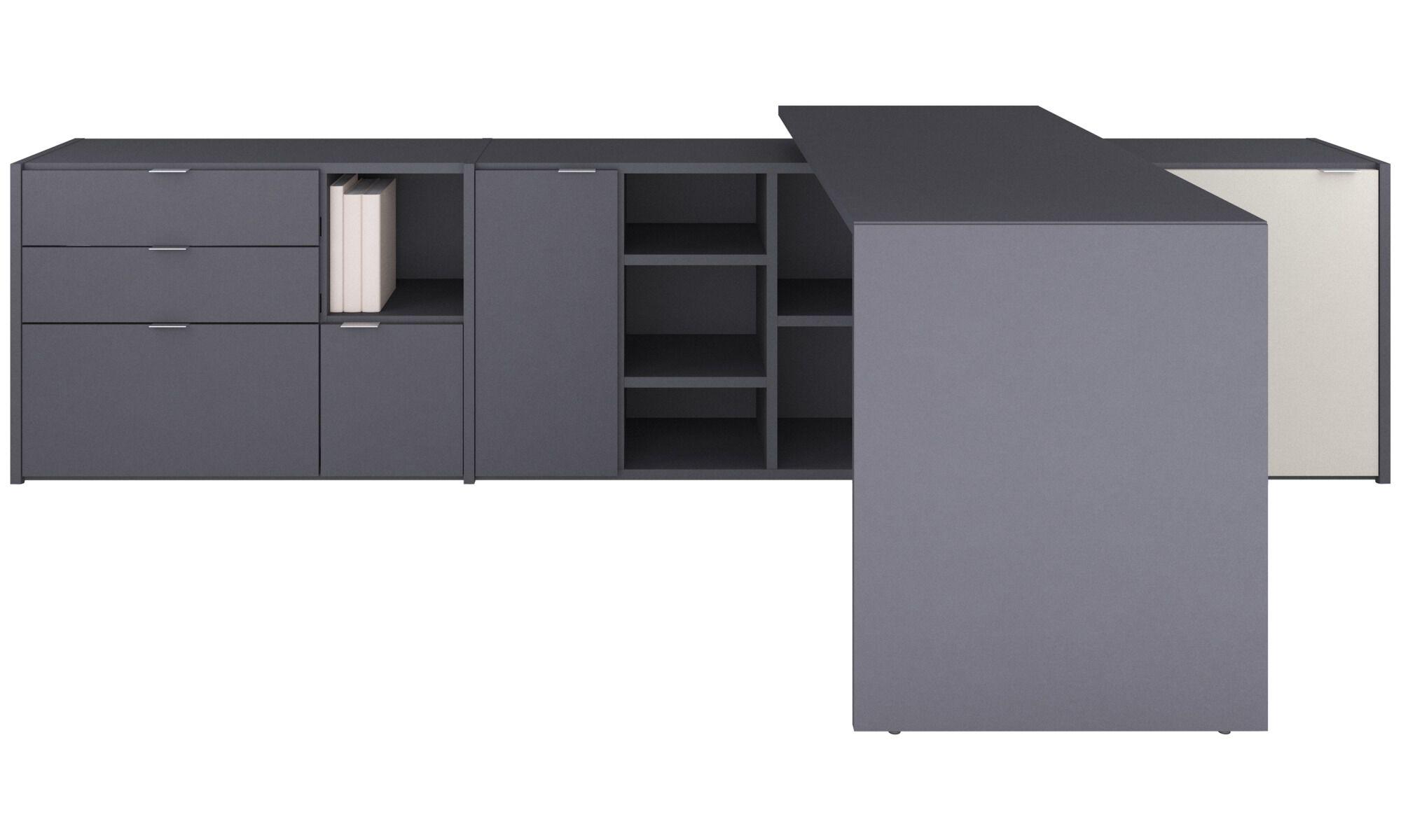 Bureaux modernes design haut de gamme signé boconcept