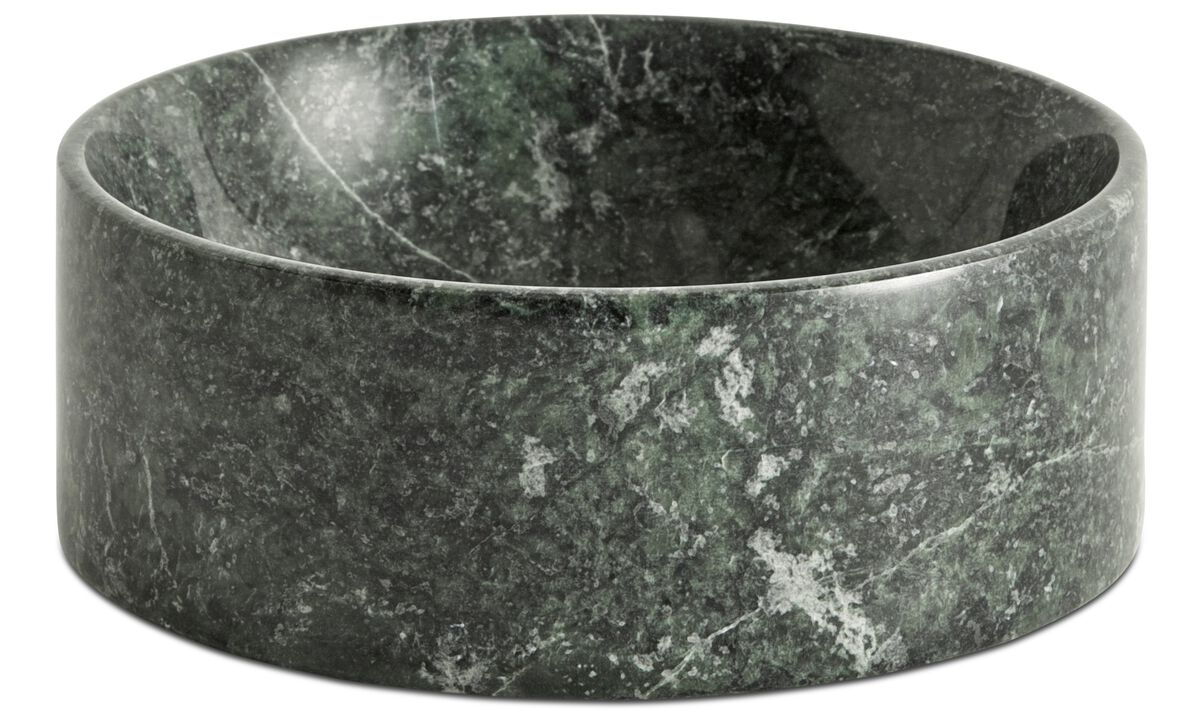 Decoration - Living bowl - Green - Stone