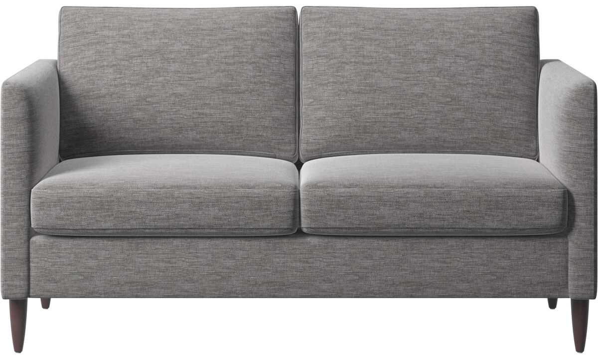 2 seater sofas - Indivi divano - Grigio - Tessuto