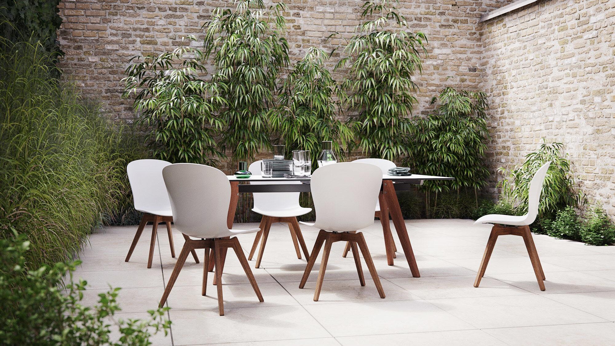 Utendørsmøbler til dine spisestue ute - Adelaide bord (kan brukes inne og ute)