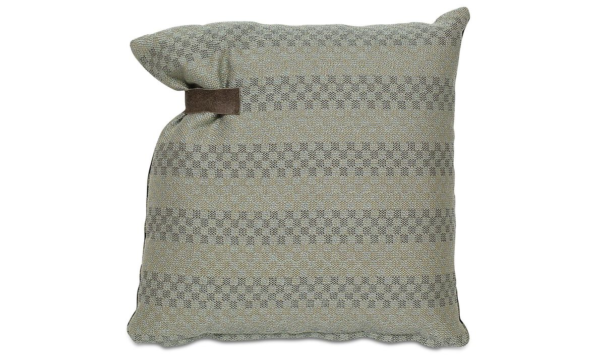 Cushions - Combi Sole cushion - Green - Fabric