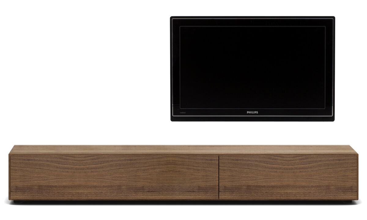 New designs - Lugano base cabinet with drawer and drop down door - Walnut