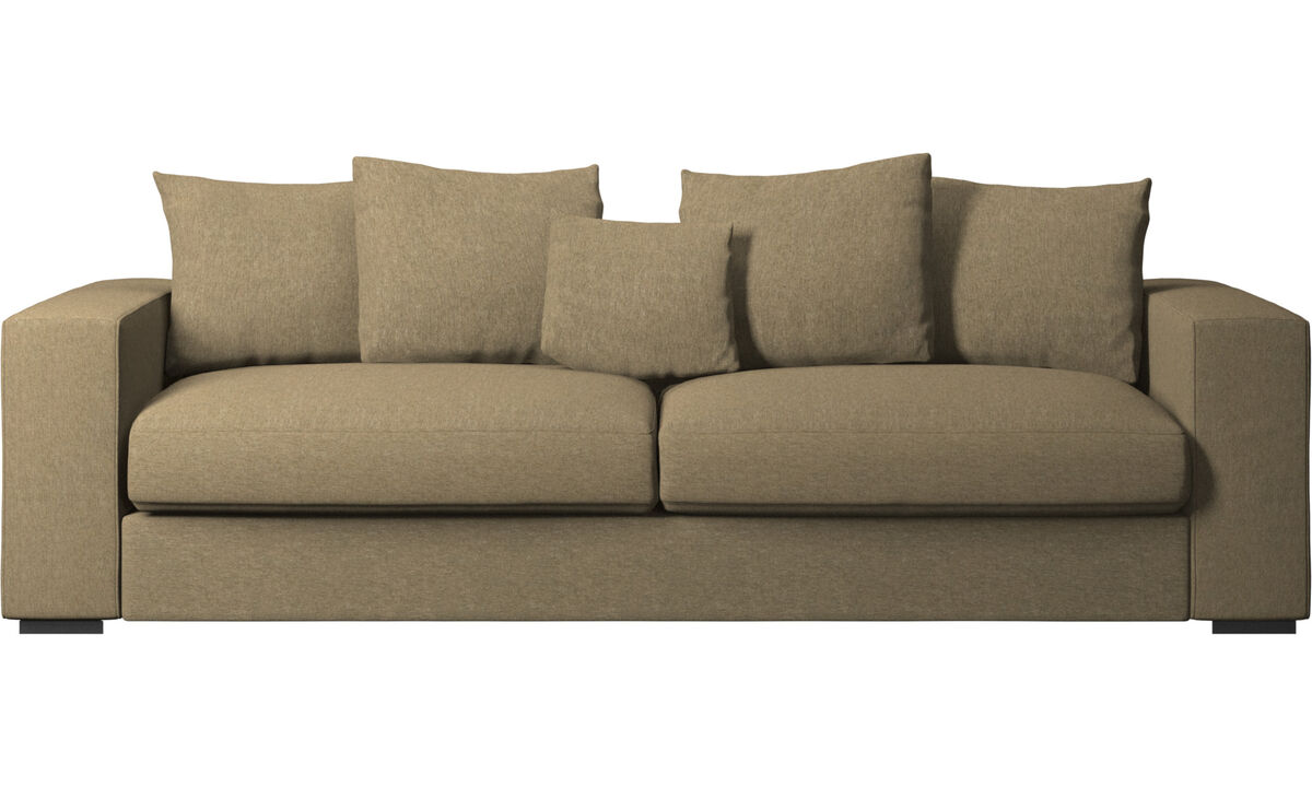 3 seater sofas - Cenova sofa - Green - Fabric