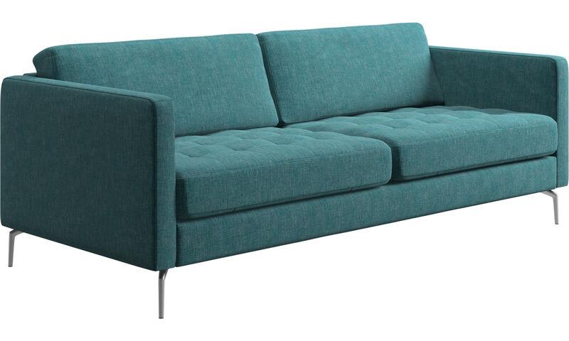 2 sitzer sofas osaka sofa getuftete sitzfl che boconcept. Black Bedroom Furniture Sets. Home Design Ideas