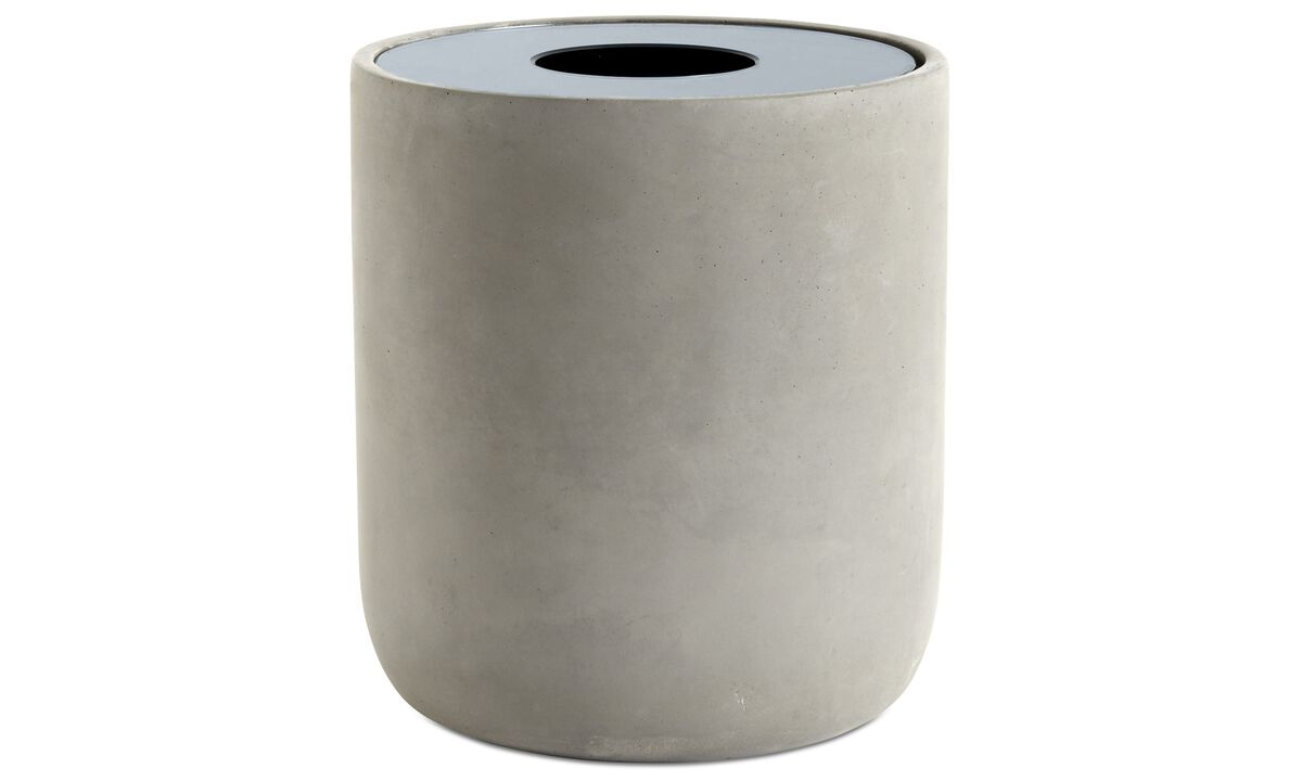 Vasen - Reflection Vase - Grau - Beton