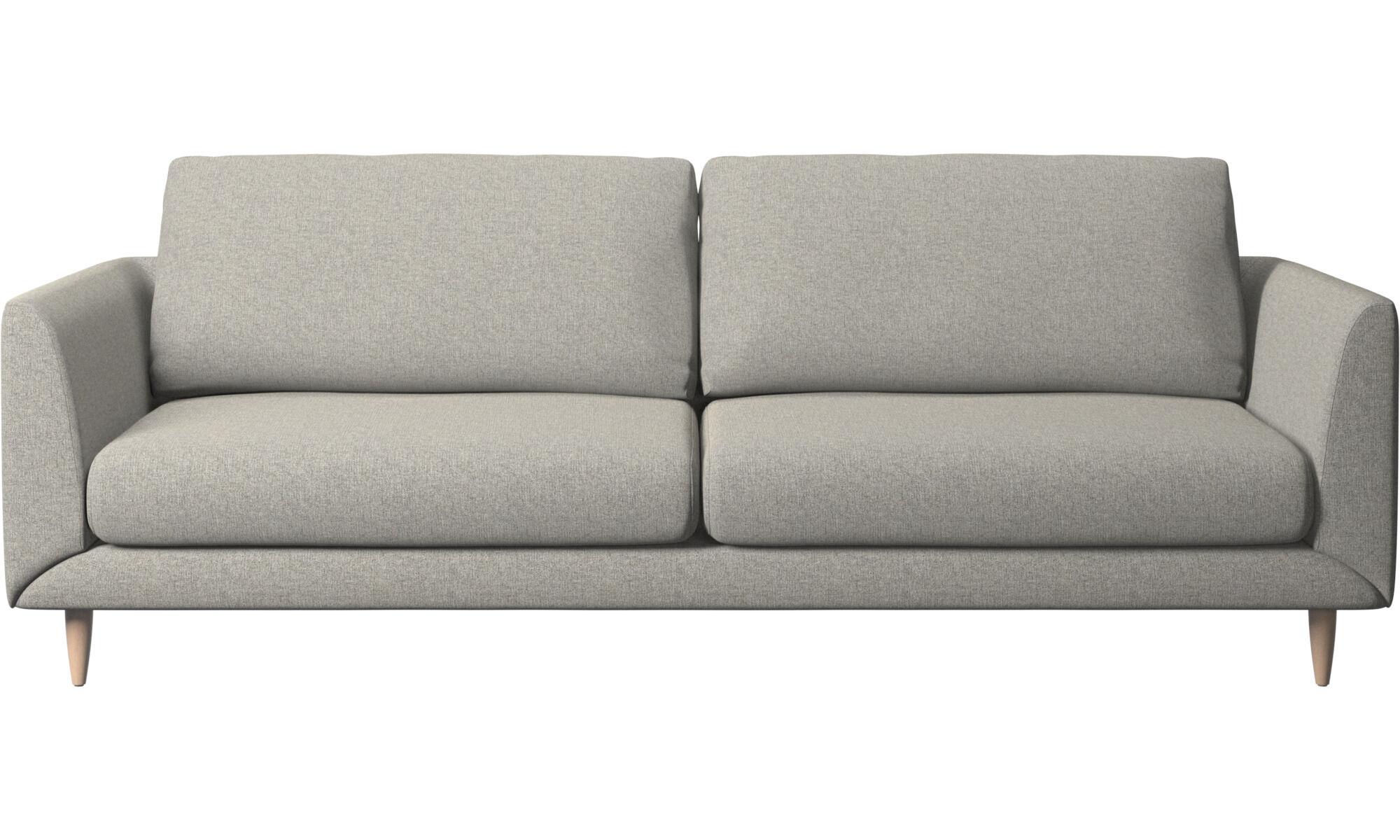 Beautiful 3 Seater Sofas   Fargo Sofa   Gray   Fabric
