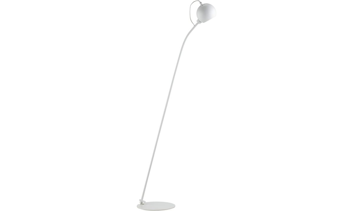 Lamps - Ball floor lamp - White - Metal