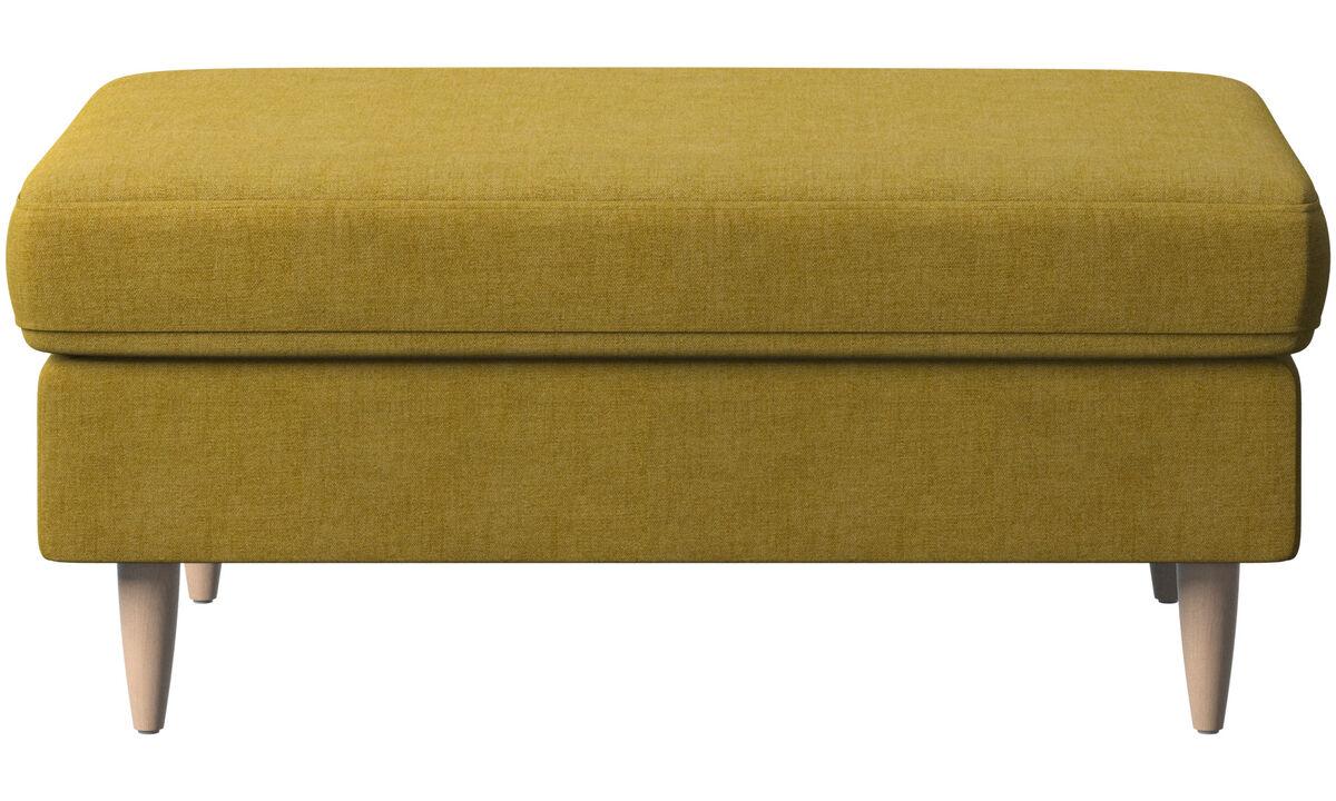 Footstools - Indivi footstool - Yellow - Fabric