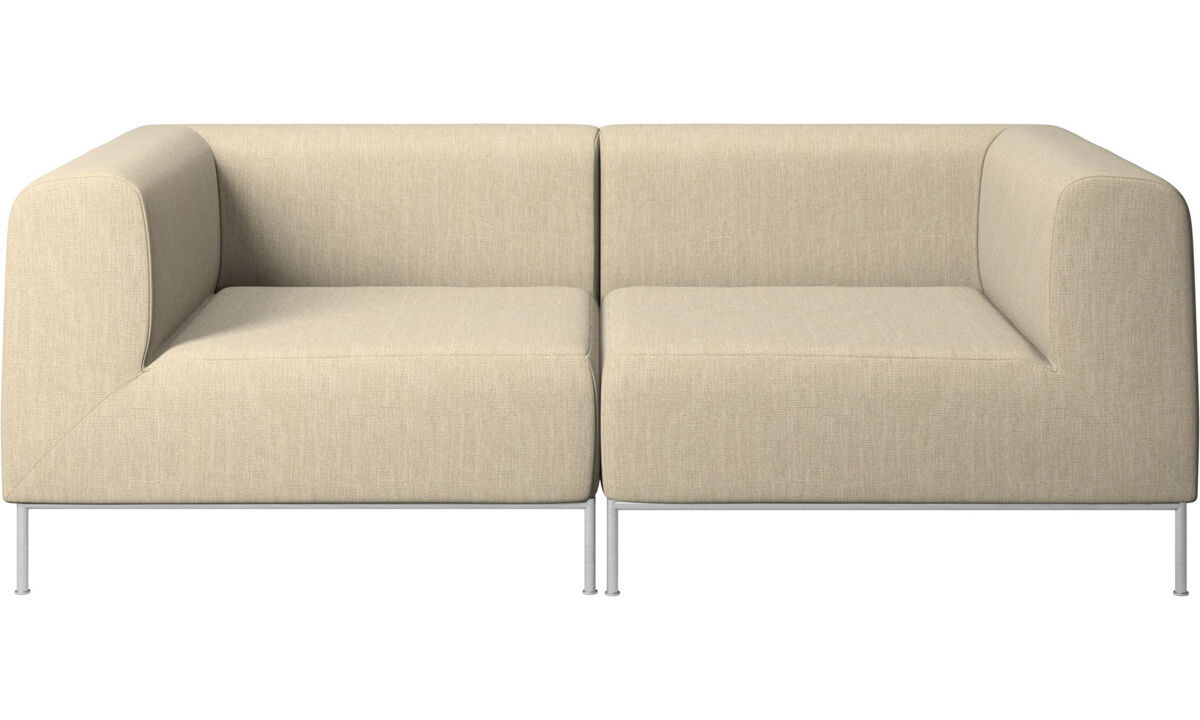 Modular sofas - Miami divano - Marrone - Tessuto
