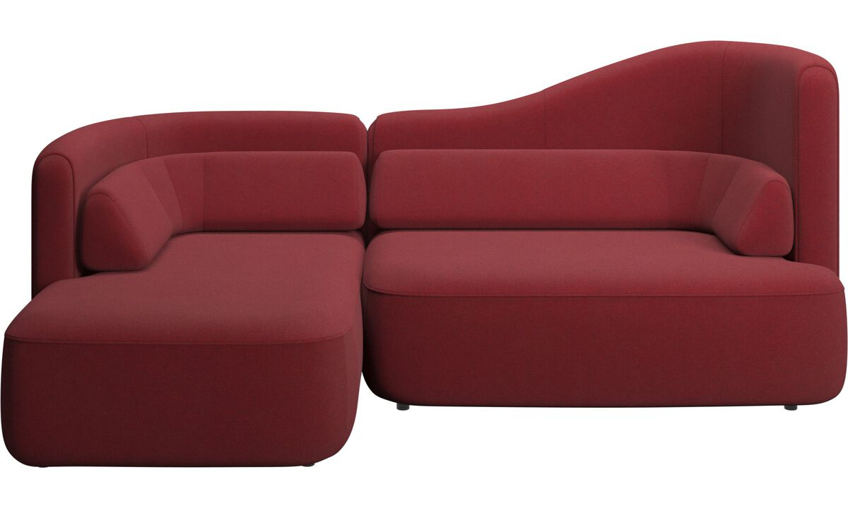 Modulære sofaer - Ottawa sofa - Rød - Stof