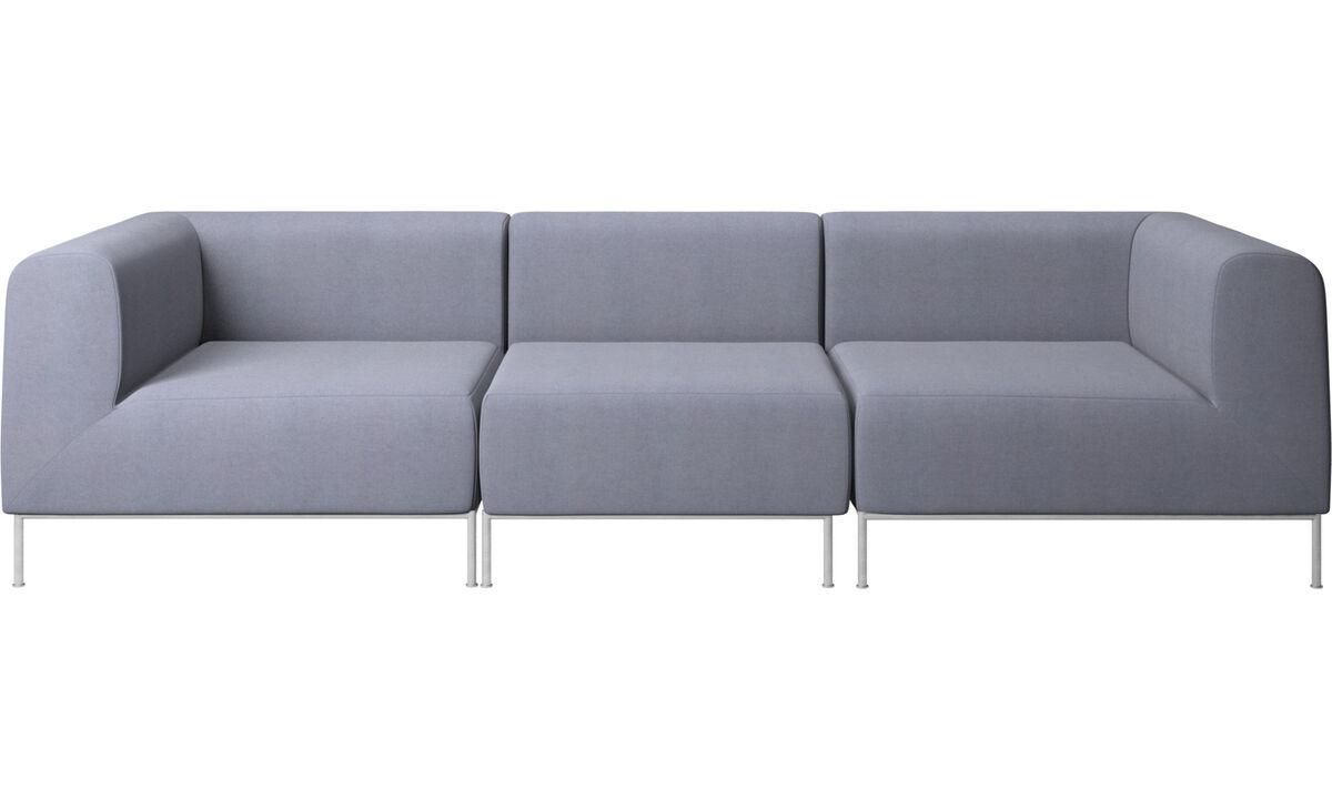 Modular sofas - Miami sofa - Blue - Fabric