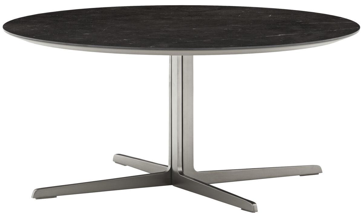 Coffee tables - Sevilla coffee table - round - Black - Ceramic