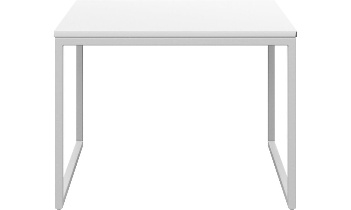 Side tables - Lugo coffee table - rectangular - White - Lacquered