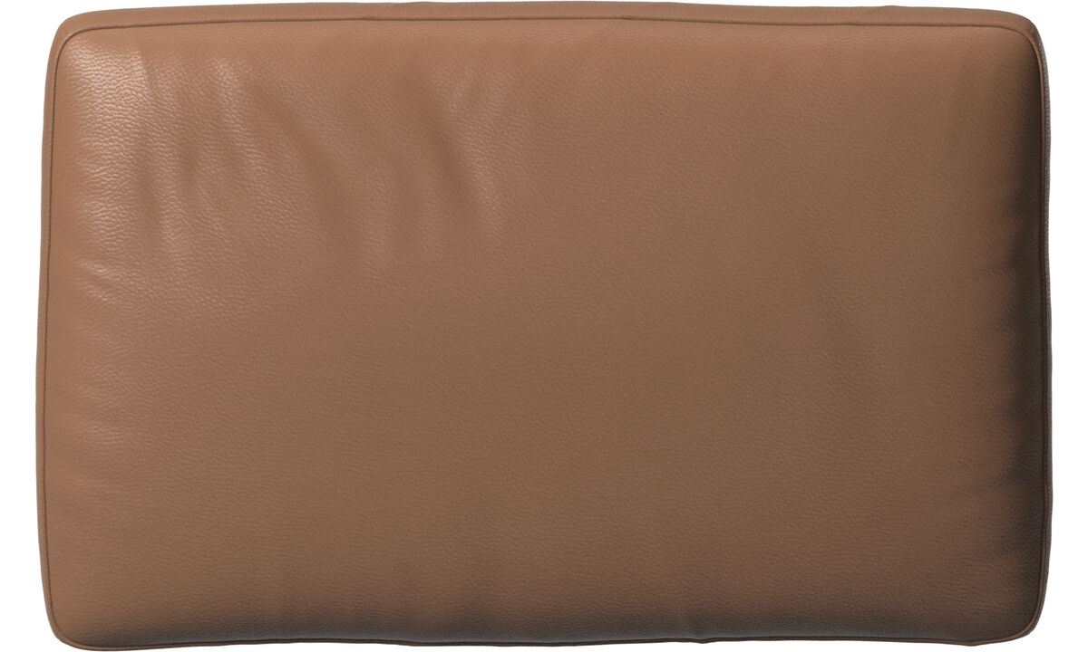 Furniture accessories - Amsterdam cushion - Brown - Leather