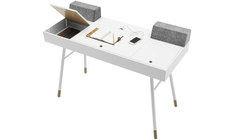 schreibtische cupertino schreibtisch boconcept. Black Bedroom Furniture Sets. Home Design Ideas