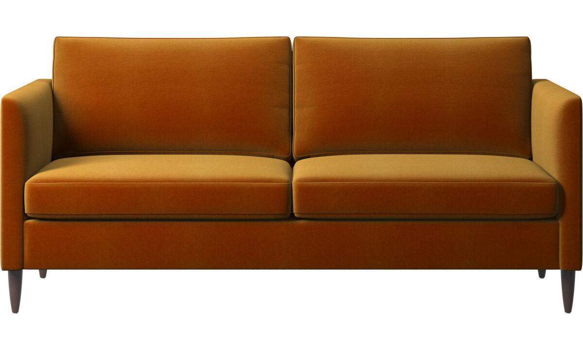 2½-sitzer Sofas - Indivi Sofa - Gelb - Stoff