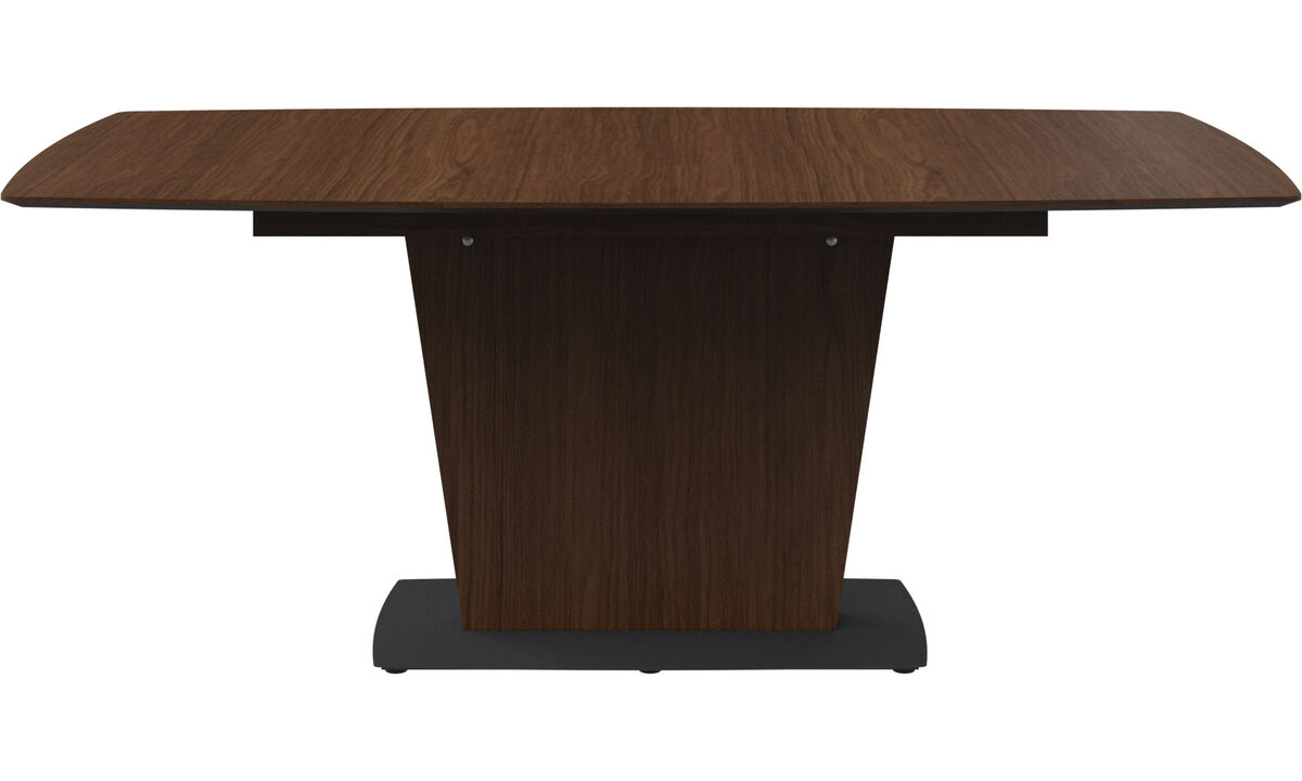 Dining tables - Milano table - rectangular - Brown - Lacquered
